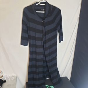 Alexandra bartlett duster length sweater